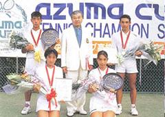 第1回アズマカップ高校選抜テニス選手権大会開催